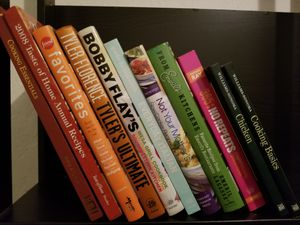 Cookbooks from Food network Stars + essential tutorials for Sale in Coronado, CA