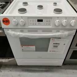 Frigidaire Slide In Gas Stove, New Scratch And Dent Thumbnail