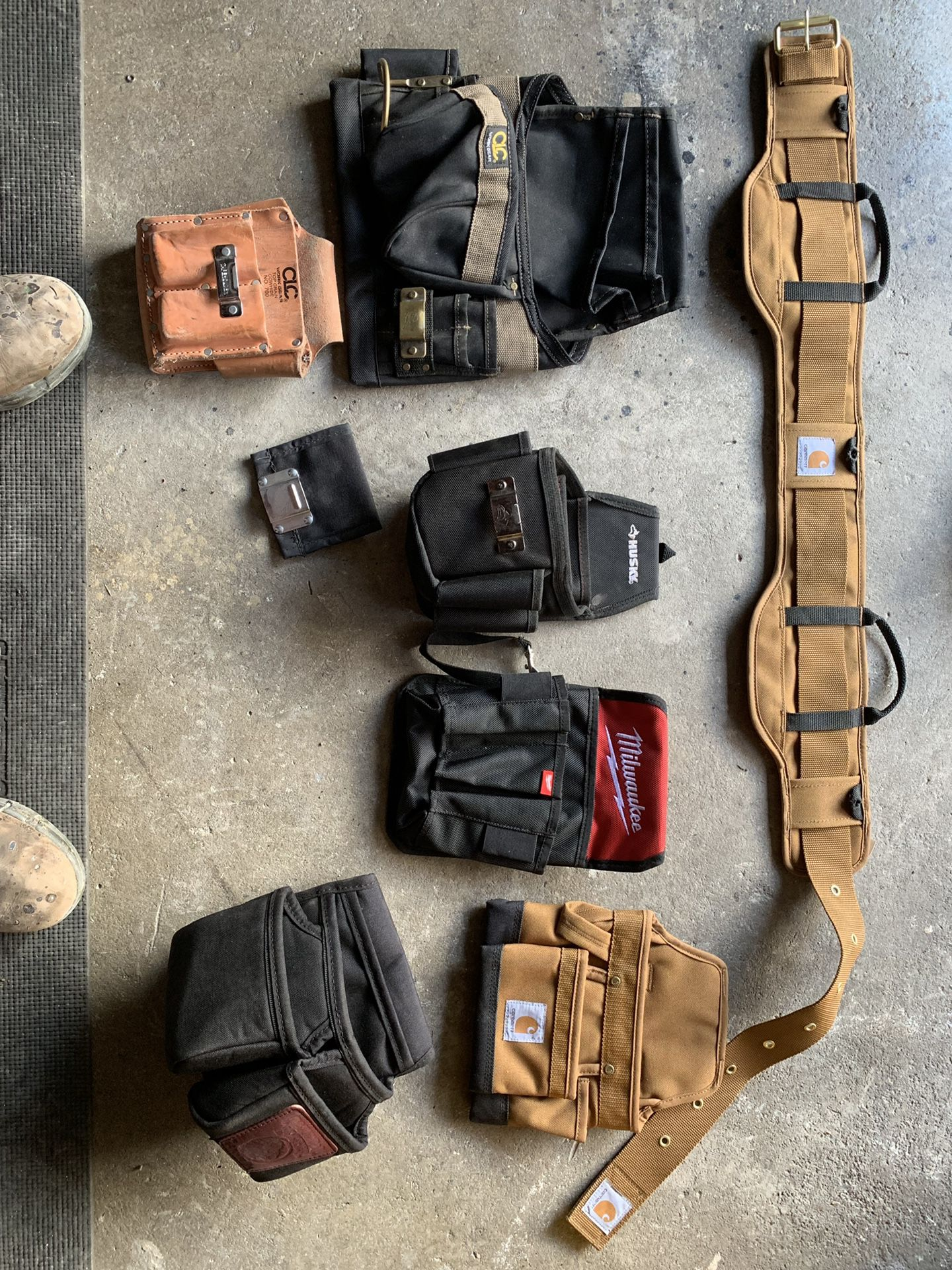 Tool bags and belt prices in description