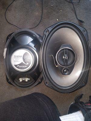Pioneer 400 watt 6×9s,sony 1100 watt 10 inch in a box for Sale in OH, US
