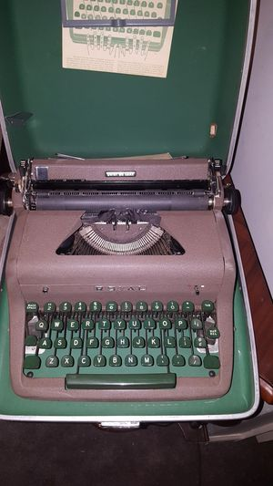 Type Writer! Yes Type Writer! And Case with it for Sale in Takoma Park, MD