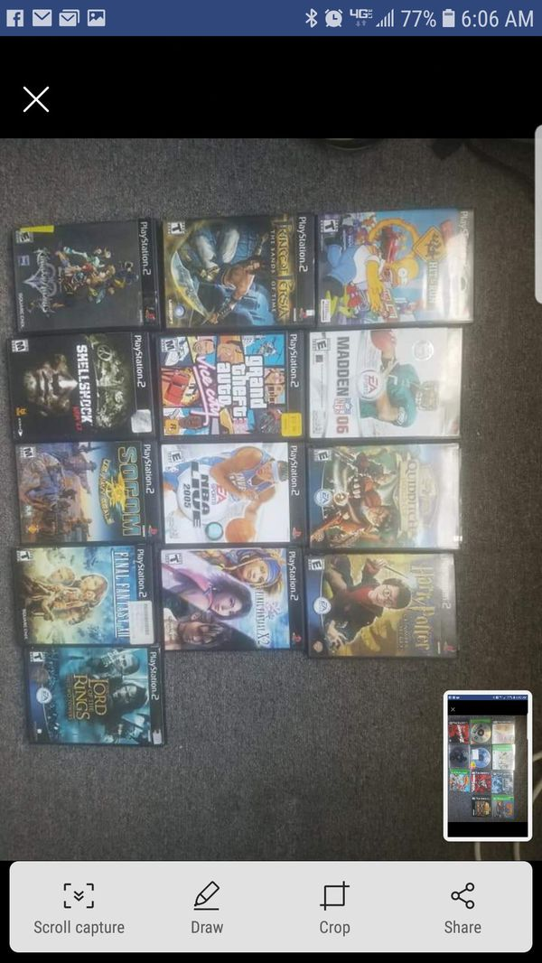Ps1 and ps2 game collection for Sale in Old Bridge, NJ - OfferUp