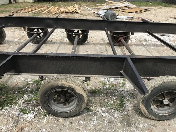 New Mobile Home Rv Trailer Axles With Hubs Rims Tires And Leafs For Sale In Buda Tx Offerup