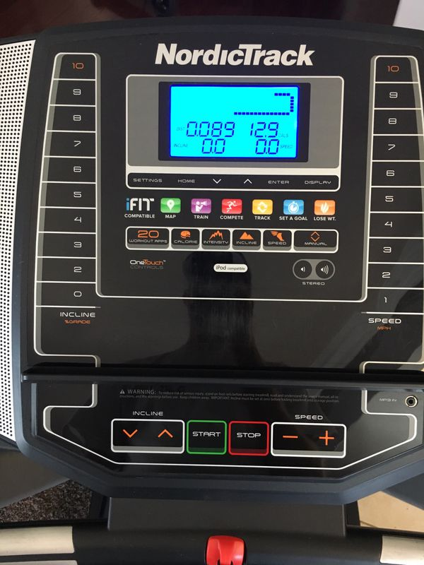 Treadmill Nordictrack T6.5s $150 Firm For Sale In