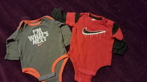 3-6 Month Nike Long Sleeve Onsies for Sale in Spanaway, WA