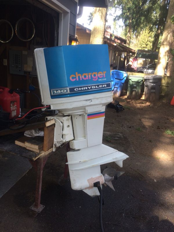 140 hp Chrysler out board also 115 Chrysler outboard