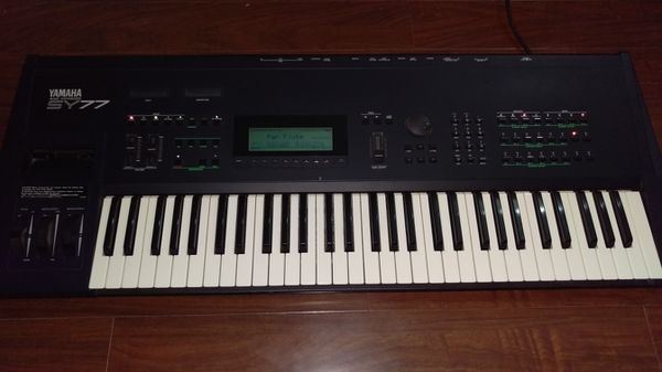 Yamaha SY77 vintage FM synthesis synthesizer for Sale in Rosemead, CA -  OfferUp