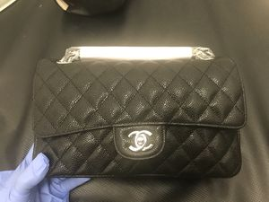 3c42dd4da3e2 Chanel Black Caviar 10inch 2.55 Double Flap Classic Shoulder bag for Sale  in Castro Valley