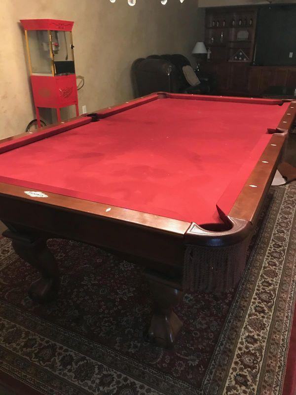 Cheeywood Brunswick Contender Series Pool Table For Sale In - Brunswick contender pool table for sale