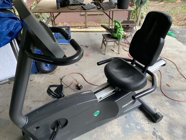 Precor C846 Recumbent Exercise Bike for Sale in Weirsdale, FL - OfferUp