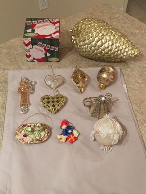 Gold Christmas Ornaments for Sale in Herndon, VA