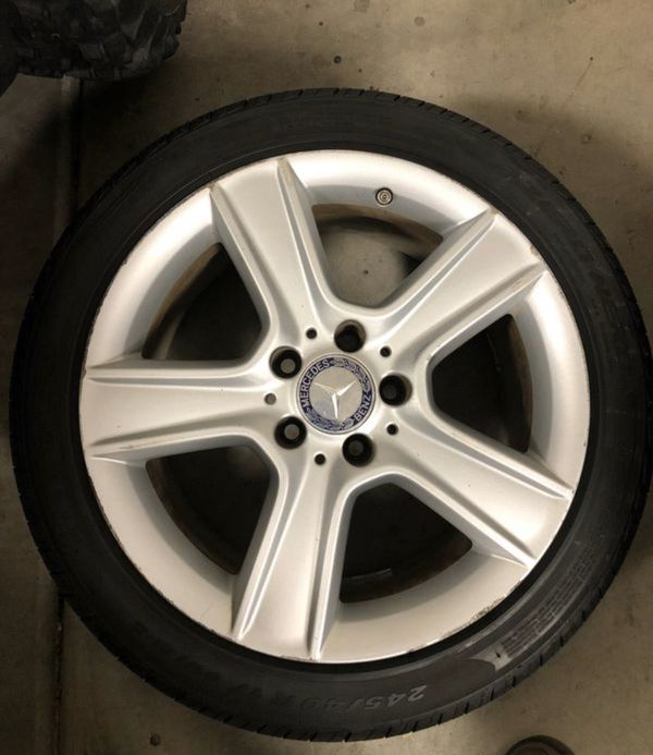 """17"""" Mercedes Rim And Tire For Sale In Peoria, AZ"""