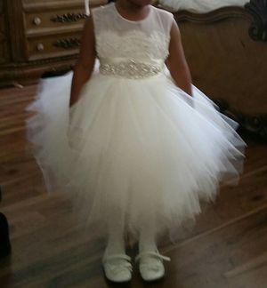 Beautiful flower girl dress for Sale in Springfield, VA