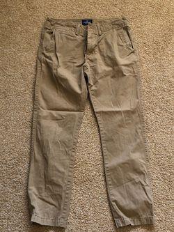 American Eagle Khaki Pants 32/32 Thumbnail