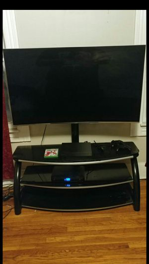55in Samsung curve 4K Smart TV modle UN55KS8500 for Sale in Cleveland, OH