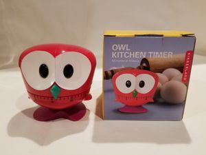 OWL KICHEN TIMER for Sale in Martinsburg, WV
