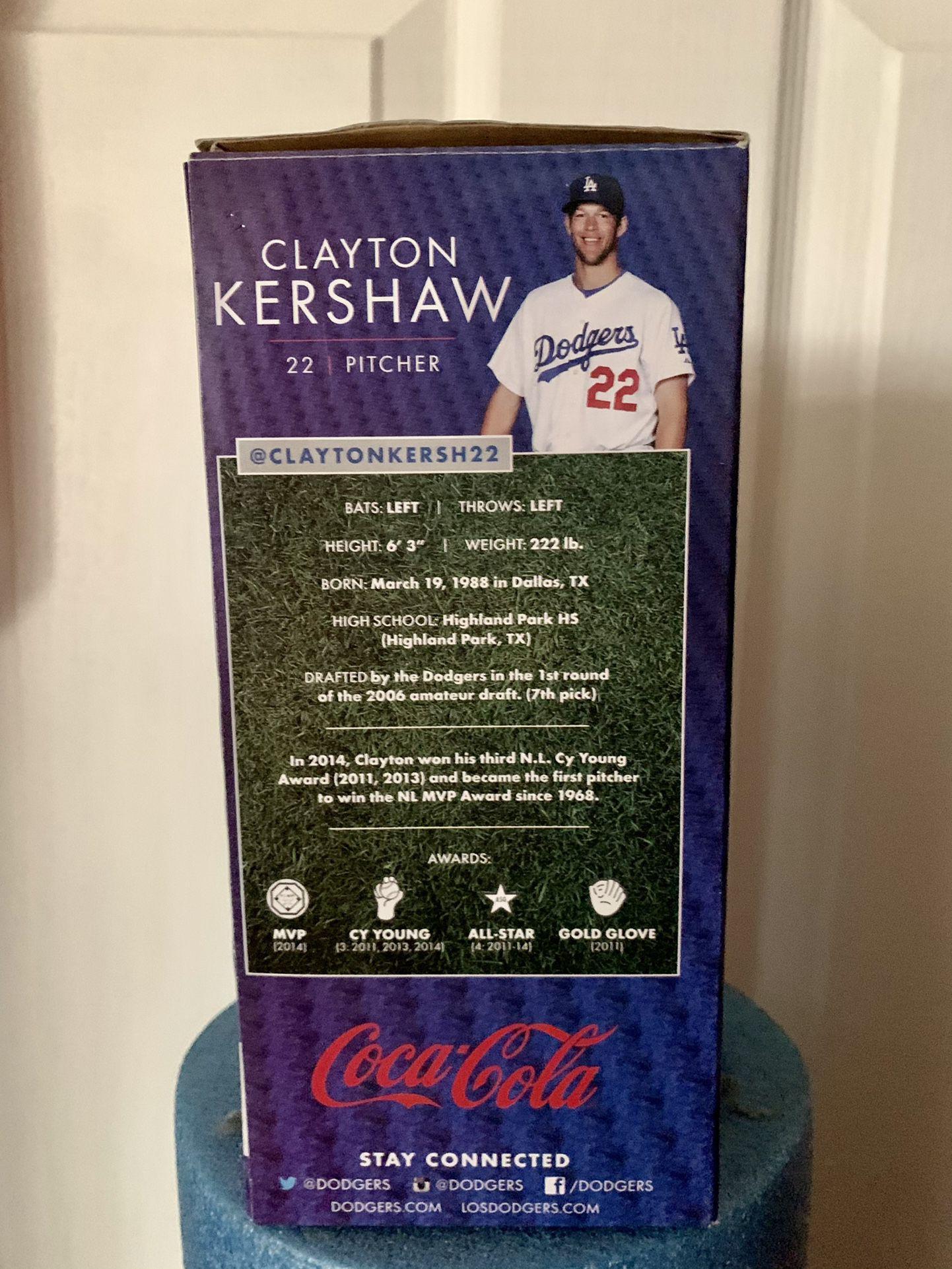 Clayton Kershaw Bobble head. CY Young Award.