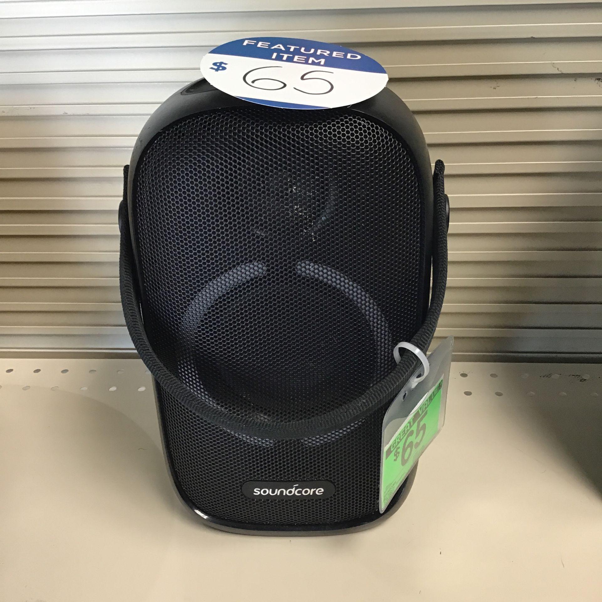 Sound core rave Neil portable Bluetooth speaker