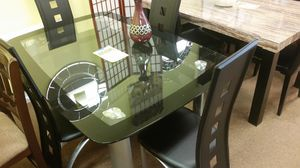 Brand new dining table with 4 chairs (final price) for Sale in Silver Spring, MD