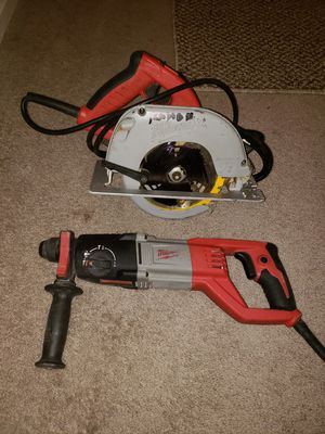 Rotary hammer drill milwuakee mas circular for Sale in VA, US