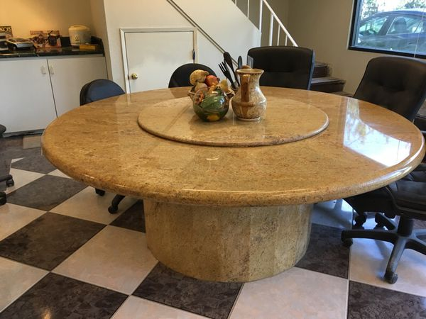Granite Custom Made Conference Table Or Dining Table Sits For - Granite conference table for sale