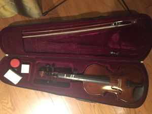 Violin Size 3/4 with Bow, 3 Rosins, Case, and Music Stand for Sale in Oakton, VA