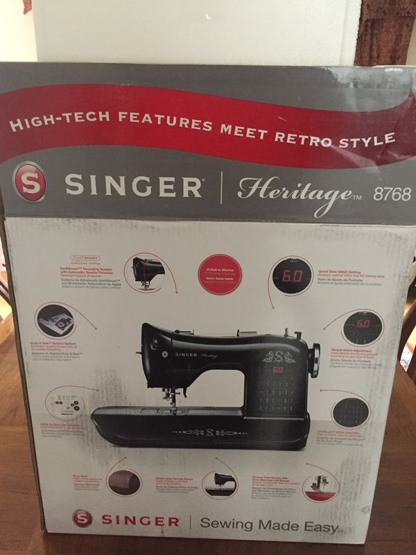 Singer Heritage 40 Sewing Machine For Sale In Boston MA OfferUp Unique Singer Heritage 8768 Sewing Machine