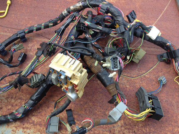 1993 Ford F-150 XLT under dash wiring harness fuse box oem OBS (Auto ...