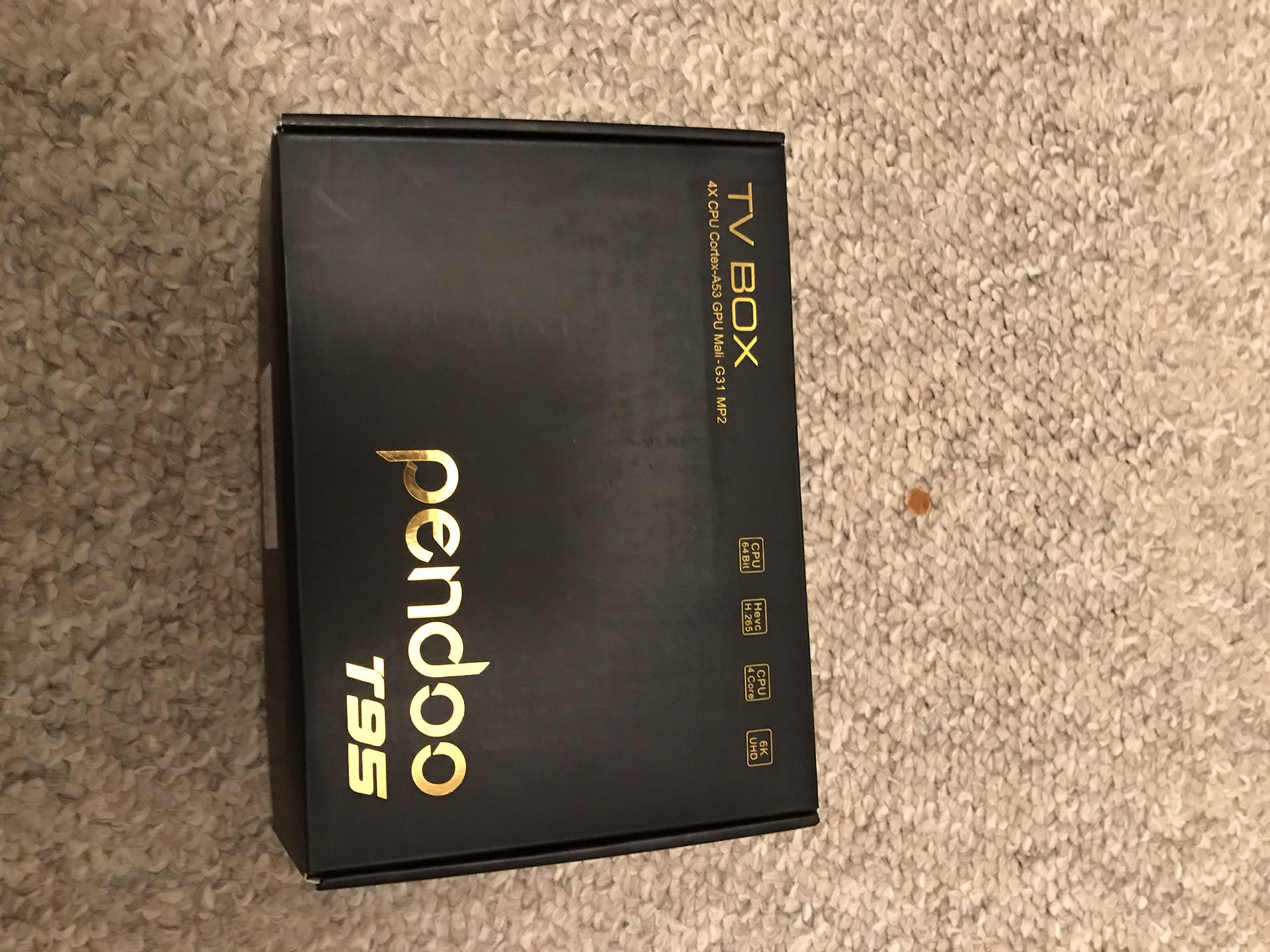 Pendoo T95 high end android box