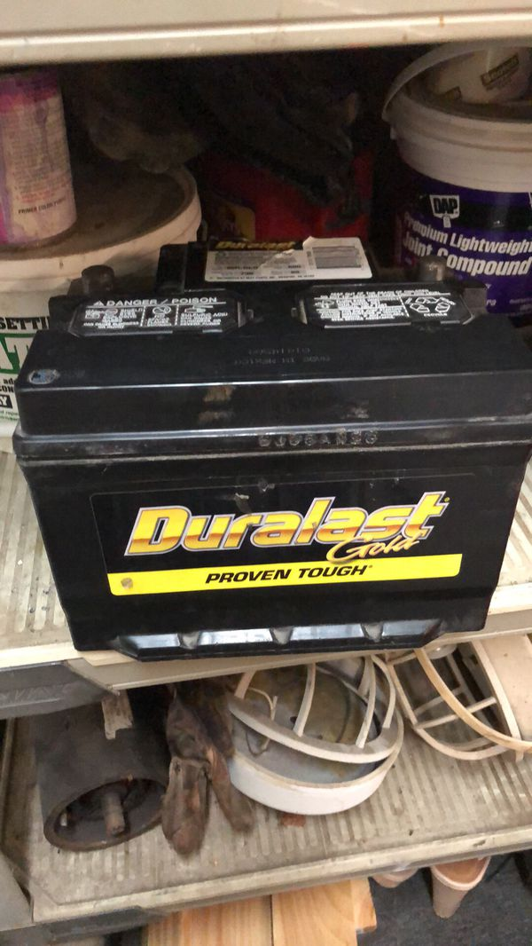 Duralast Gold Auto Battery For Sale In Winooski Vt Offerup