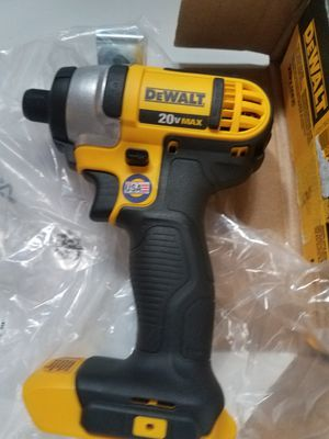 Dewalt 20 volt inpact,NEW ,, DEWALT DE IMPACTO NUEVA DE 20 VOLTIOS for Sale in Sterling, VA