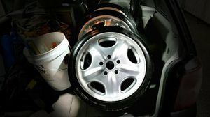 Photo 16X8 BBS Italy Wheels W/ ZEXIUS Tires ! 5X114.3