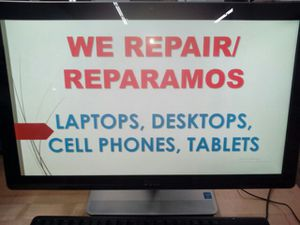 We repair Laptops, desktops, cell phones, tablets. Professional experts for Sale in Silver Spring, MD