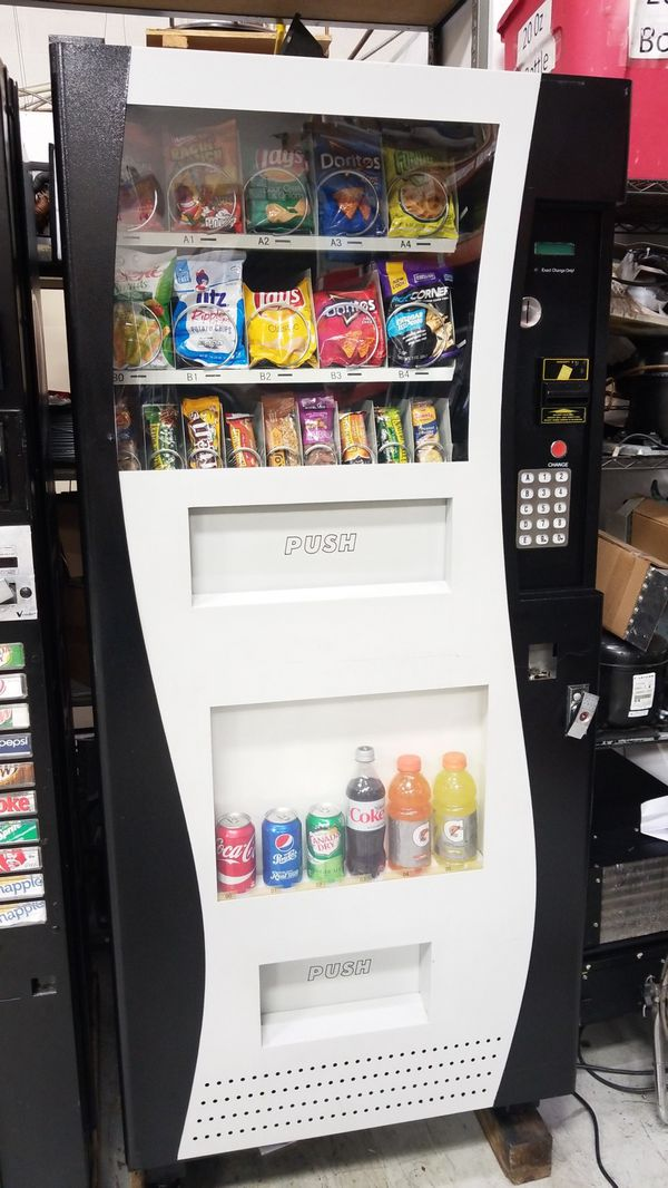 Combo vending machine fully refurbished with warranty for Sale in  Gaithersburg, MD - OfferUp
