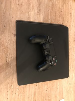 PS4 Slim (New Perfect Condition just bought) Play Station 4 for Sale in Alexandria, VA