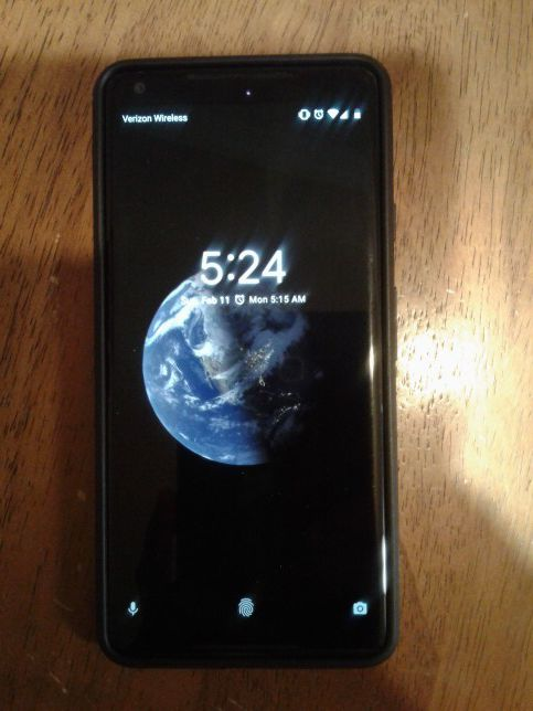 size 40 f92b7 5e19c Verizon Google Pixel 2 Xl 64g with case and charger for $600 obo for Sale  in Odessa, TX - OfferUp