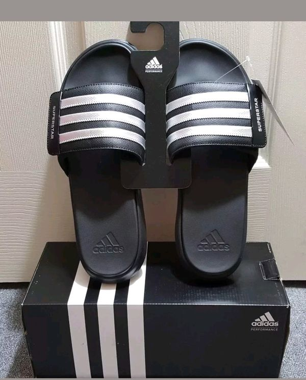 b1d0062199939 Adidas Performance Superstar 4g Athletic Slides Sandal AQ5893 for ...