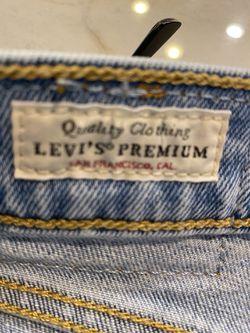 Levi's Ribcage Size 31 x 27  Thumbnail