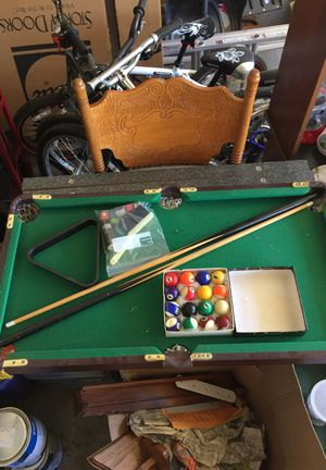 Miniature pool table for Sale in Rolla, MO