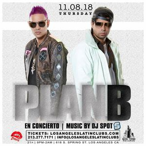 Plan B live in concert inside Exchange LA for Sale in Los Angeles, CA