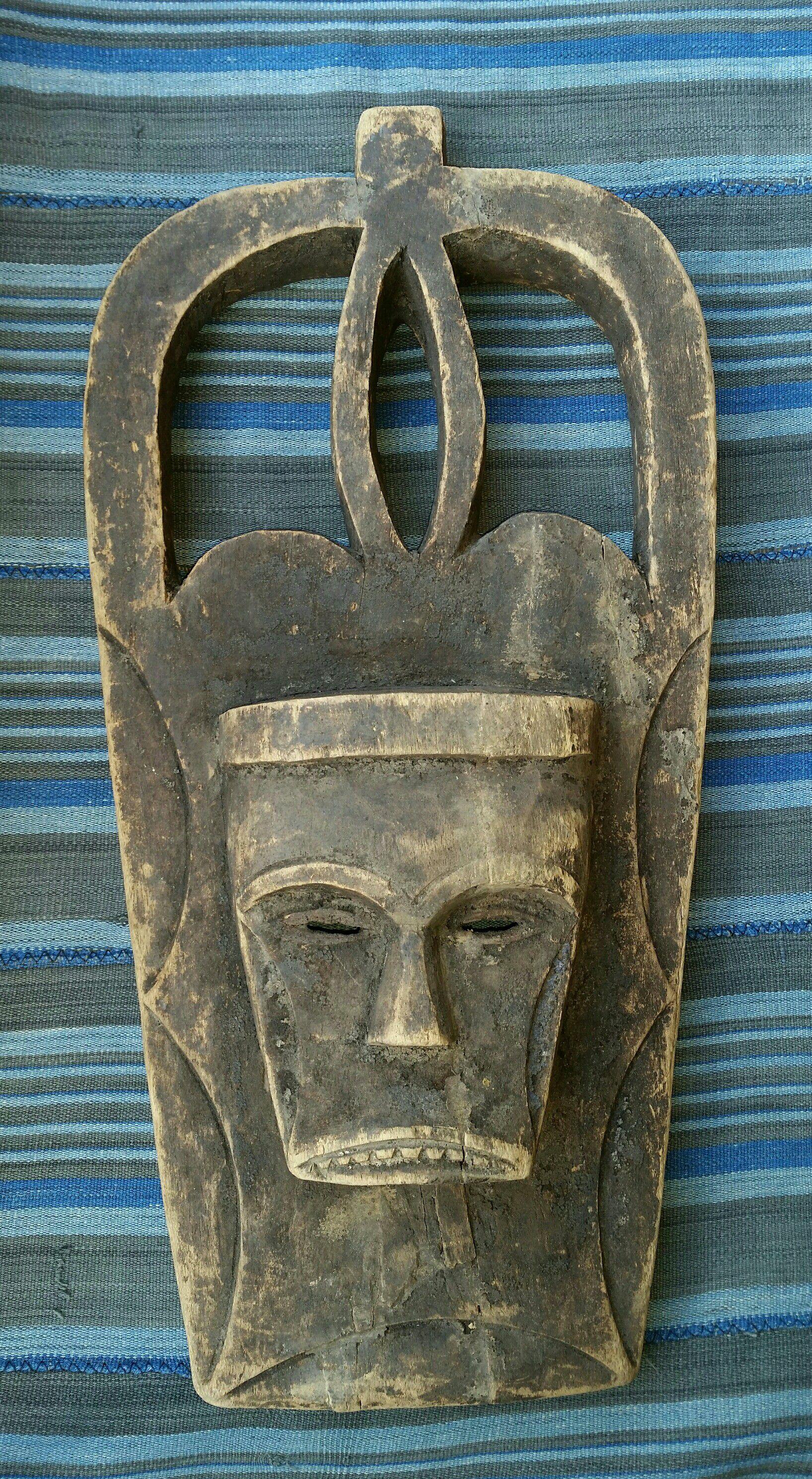 Traditional African Art - Eket Mask