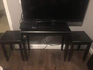 Set of tables (2 side tables or night stands and 1 sofa table) for Sale in Boston, MA