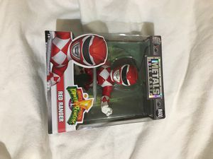 """Metals Die Cast Collectible/Mighty Morphin Power Rangers """"Red Ranger"""" for Sale in Fresno, CA"""
