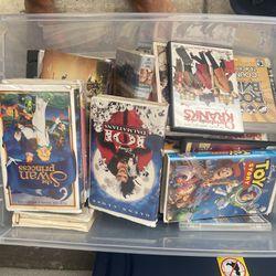 VHS tapes, DVDs, Blu-ray, PlayStation games rock band games Thumbnail