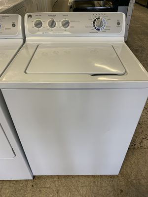GE TOP LOAD WASHER AND DRYER ELECTRIC SET WITH WARRANTY for Sale in Woodbridge, VA