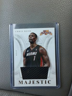 Basketball Jersey Card Chris Bosh for Sale in Orlando, FL