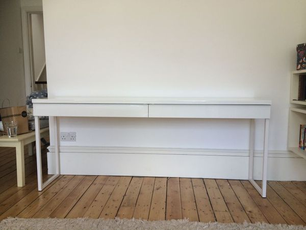 Ikea Besta Burs 70 Inch Long Desk Console Table Sofa Table Hallway