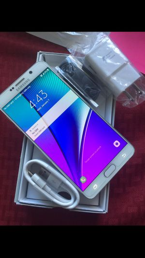 Samsung Galaxy Note 5 Factory Unlocked Excellent Condition for Sale in West Springfield, VA