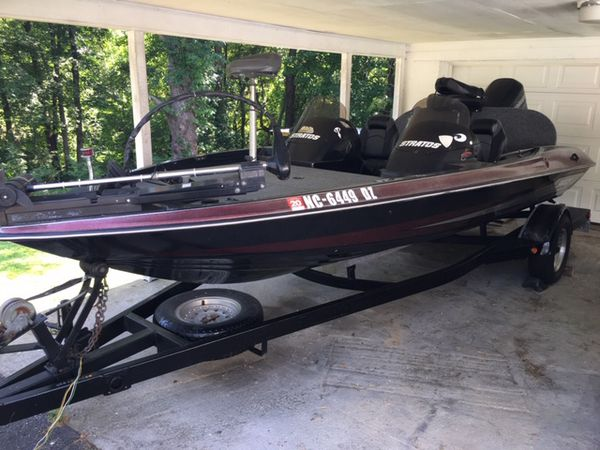1997 stratos 278 dc bass boat