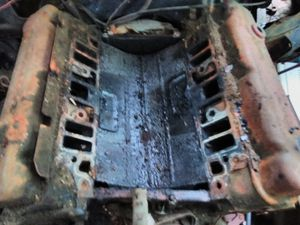 1972 Buick skylark 350 ENGINE BLOCK with interior components only. DOES NOT TURN. for Sale in Washington, DC